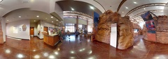 Arches National Park Visitor Center Interior pano photosphere 360