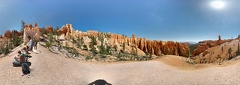 Bryce Canyon Rim Hike pano photosphere