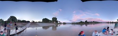 Green River State Park Dock Sunset pano photosphere