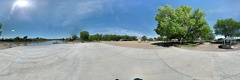 Green River State Park Hardened landing boat ramp pano photosphere