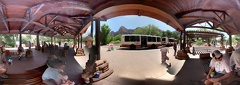 Zion National Park Bus Stop 2 pano photosphere