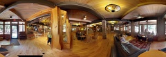 Zion National Park Lodge Lobby pano photosphere